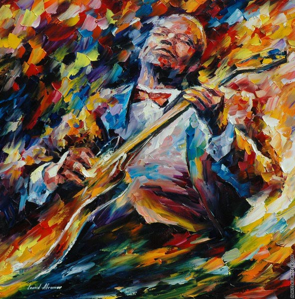 B. B. King (Afremov)
