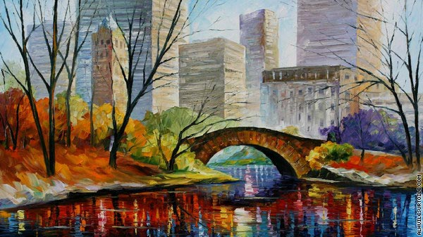 Central Park - New York (Afremov)