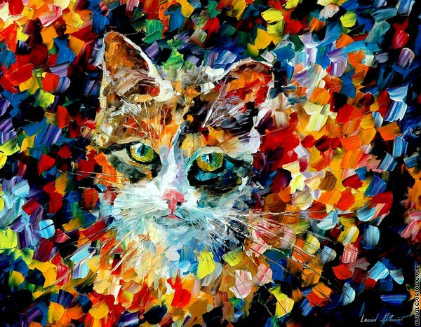 Chat charmant (Afremov)