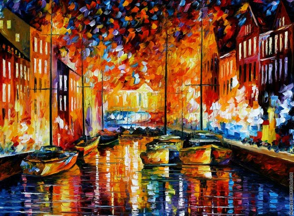 Port de Copenhague (Afremov)