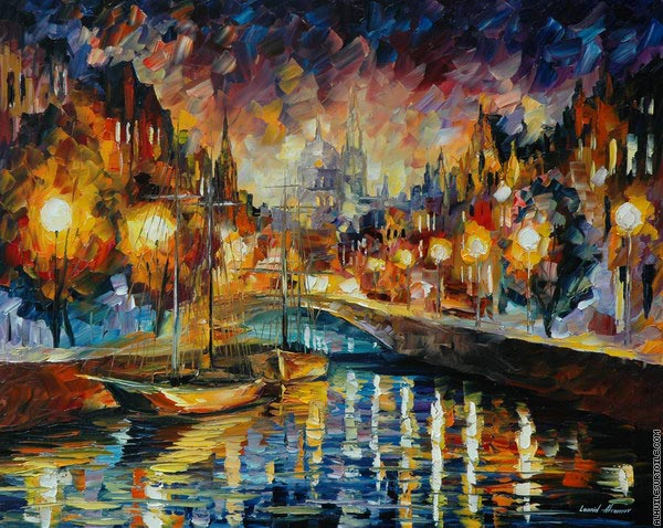 Mouvement sans fin (Afremov)