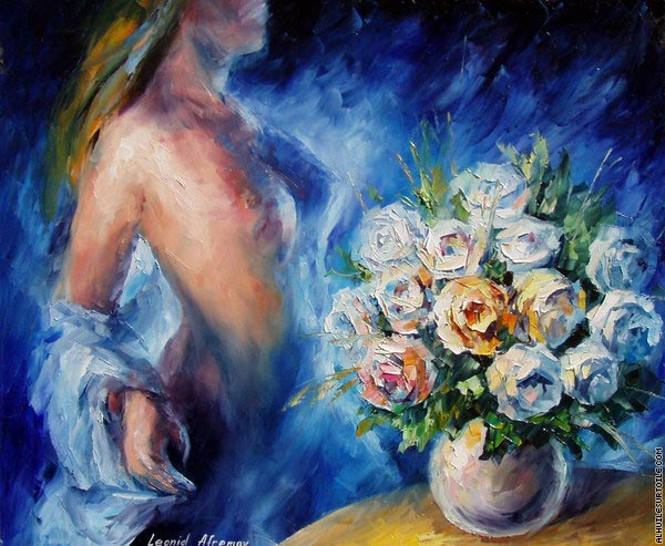 Flowers of love 3 (Afremov)