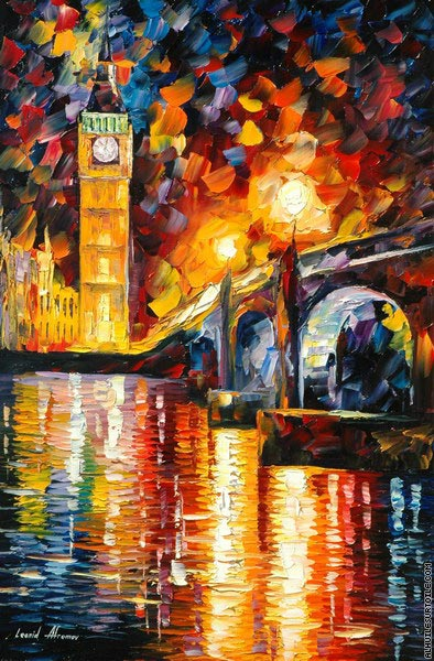 Londres (Afremov)