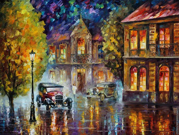 Los Angeles 2 (Afremov)