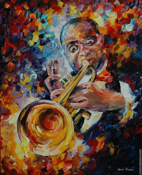 Louis Armstrong 1 (Afremov)