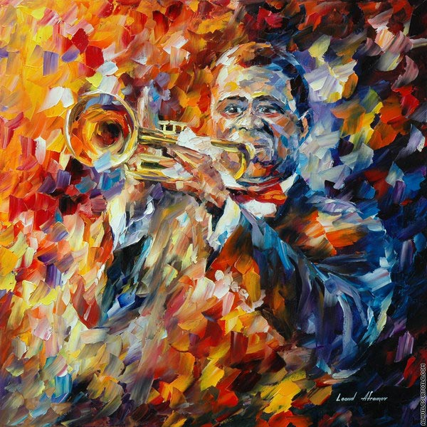 Louis Armstrong 2 (Afremov)