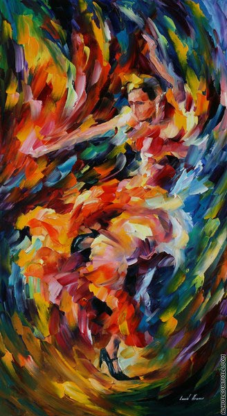 Magie du flamenco (Afremov)