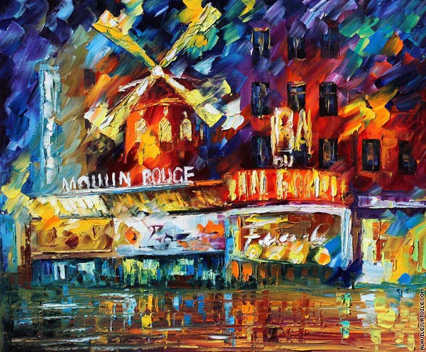 Paris - Moulin Rouge (Afremov)