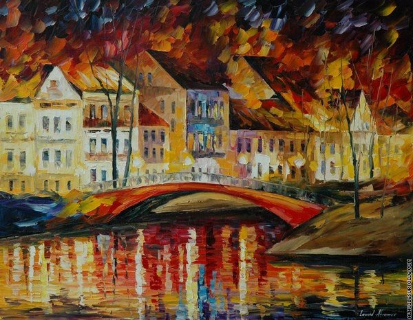 Pont rouge (Afremov)