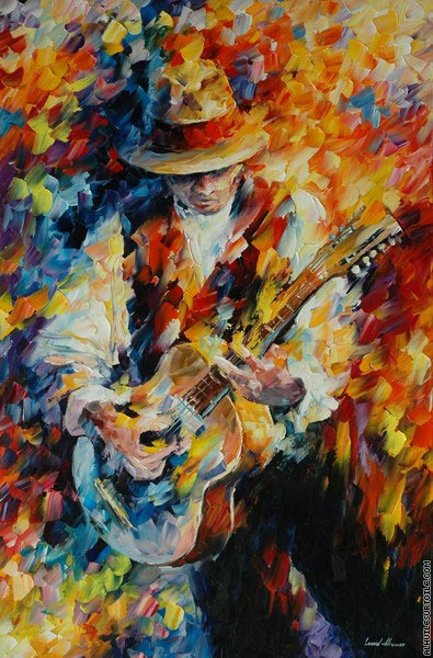 Chantons ma guitare (Afremov)