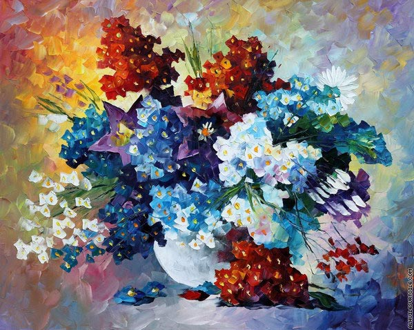 Sourire de printemps (Afremov)