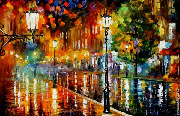 Rue de l'illusion (Afremov)