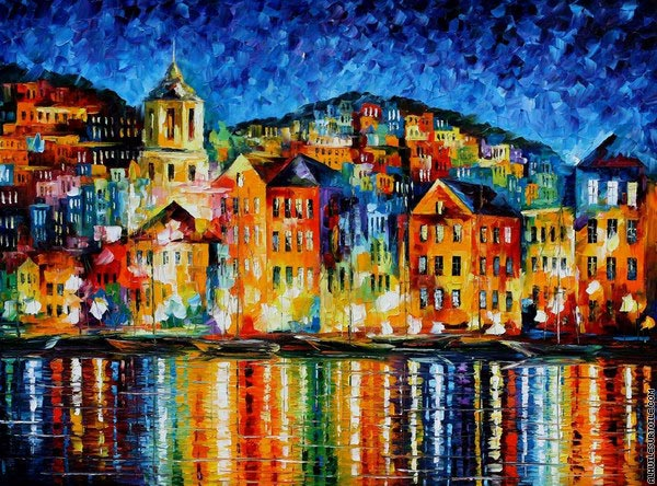 Village portuaire (Afremov)