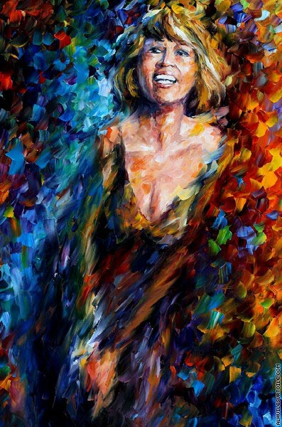 Whitny Houston (Afremov)