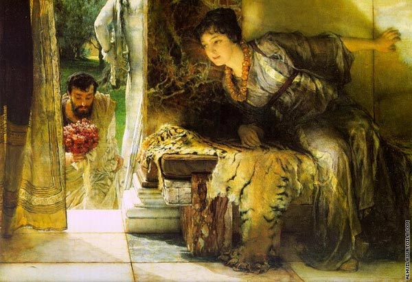Welcome Footsteps (Alma-Tadema)
