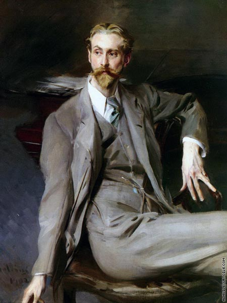 Portrait of The Artist Lawrence Alexander Harrison (Boldini)