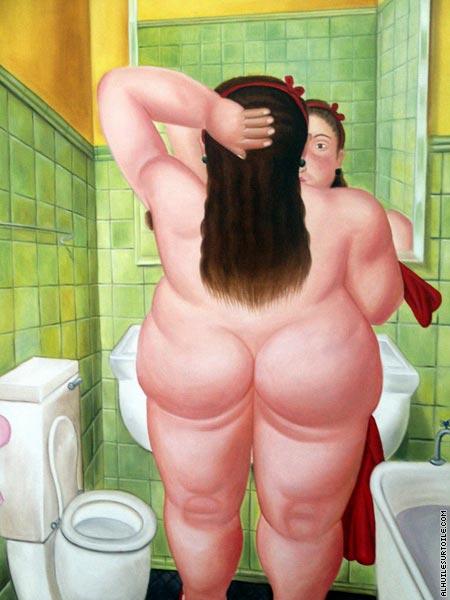 la salle de bains i botero - Photo Pour Salle De Bain Tableau