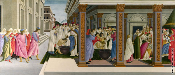 Scenes from the Life of Saint Zenobius 1 (Botticelli)