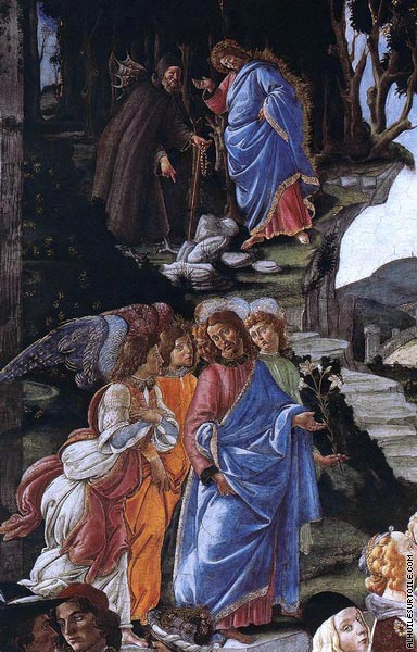 La Tentation du Christ* (Botticelli)