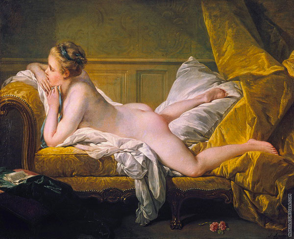 L'Odalisque blonde - Louise O'Murphy (Boucher)