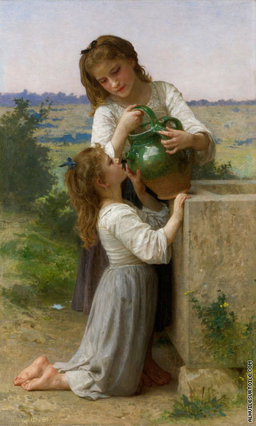 À la Fontaine (Bouguereau)