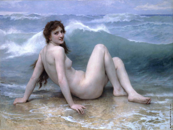 La vague (Bouguereau)