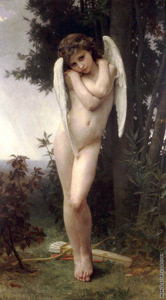 Wet Cupid (Bouguereau)