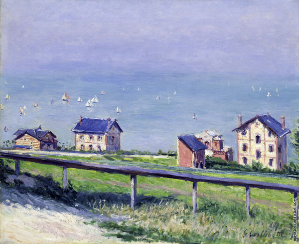 Regatta at Trouville (Caillebotte)