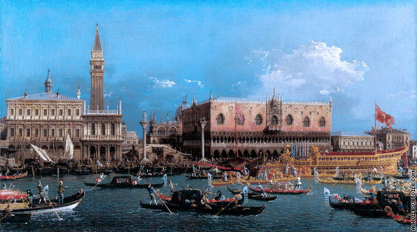 Le Bucentaure au Môle le Jour de l'Ascension 2 (Canaletto)