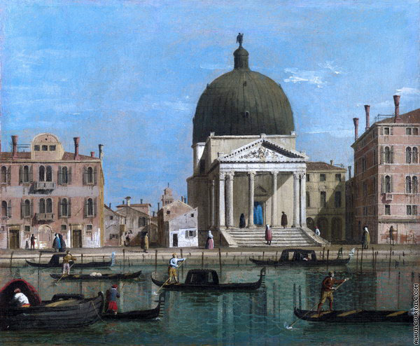 Église de San Simeone Piccolo (Canaletto)