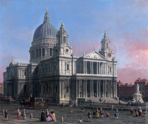 Cathédrale St-Paul de Londres (Canaletto)