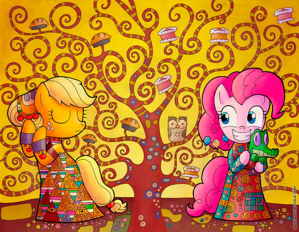 L'Arbre My Little Pony (d'après Klimt)