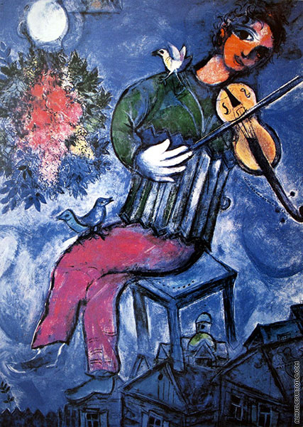 Le Violoniste (Chagall)