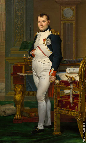 The Emperor Napoleon in his Study at the Tuileries (David)