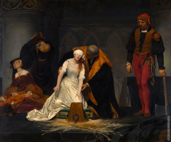 Le Supplice de Jane Grey (Delaroche)