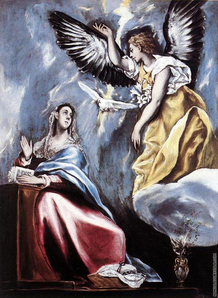 L'Annonciation 2 (El Greco)