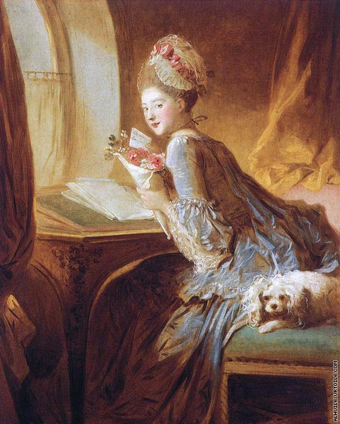 The love letter (Fragonard)