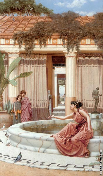 Innocent Amusements (Godward)