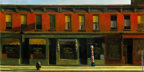 Early Sunday Morning (Hopper)