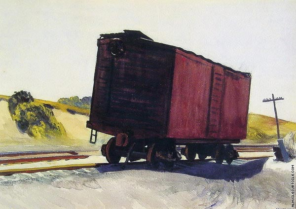 Freight Car at Truro (Hopper)