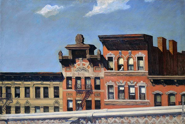 From Williamsburg Bridge (Hopper)