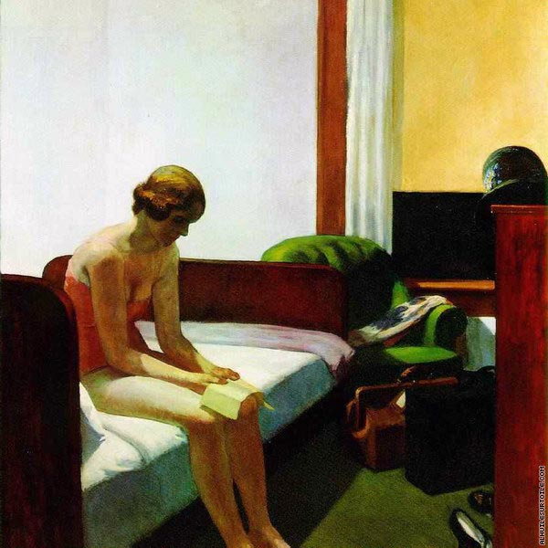 Hotel Room (Hopper)