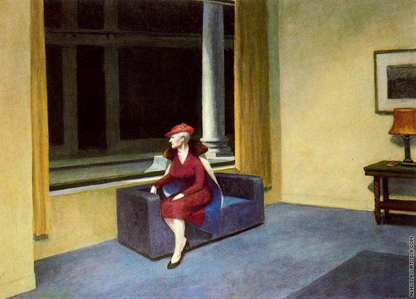 Hotel Window (Hopper)