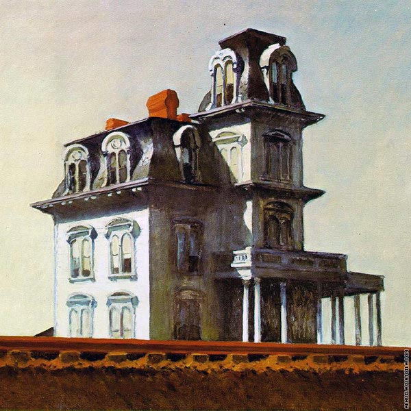 House by the Railroad (Hopper)