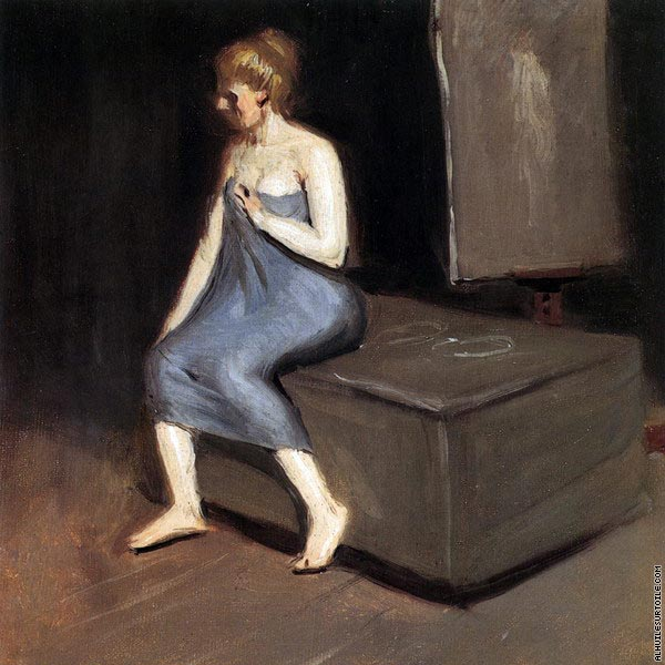 Model Sitting (Hopper)