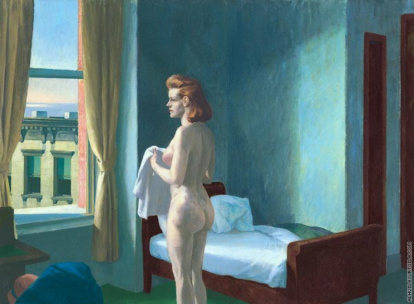 Morning in a City (Hopper)
