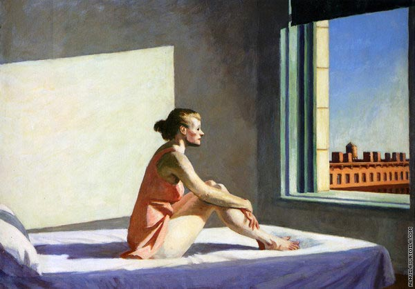 Reproduction du tableau Morning Sun (Hopper)