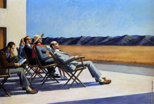 People in the Sun (Hopper)