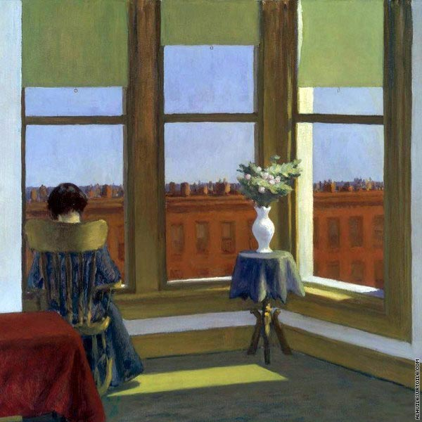Room in Brooklyn* (Hopper)