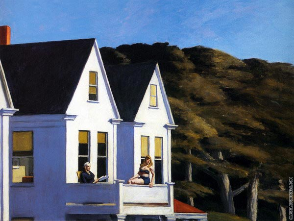 Second Story Sunlight (Hopper)